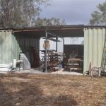 The materials storage facility