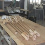 Wooden toys under construction