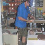 The Storeman checking on stock