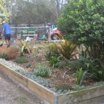 The gardens and grounds are maintained by our members